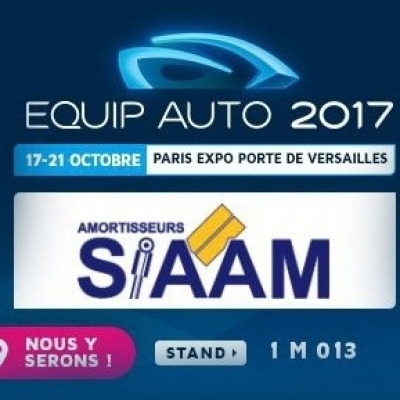 Show for automotive : Equip Auto Paris 2017